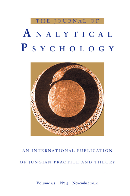 Journal of Analytical Psychology Cover
